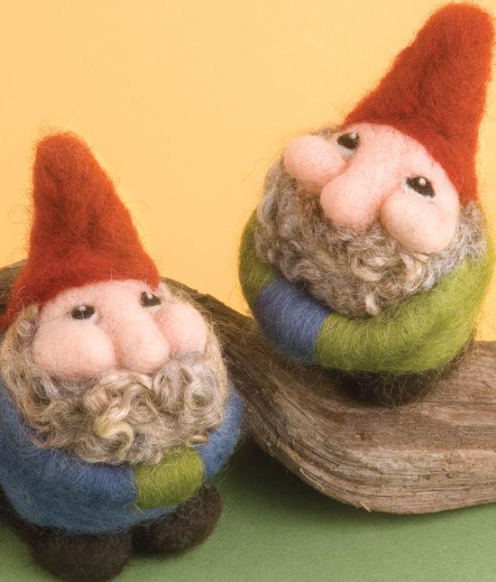 Felting Kits Gnome Needle Felting Kit- Romney Ridge