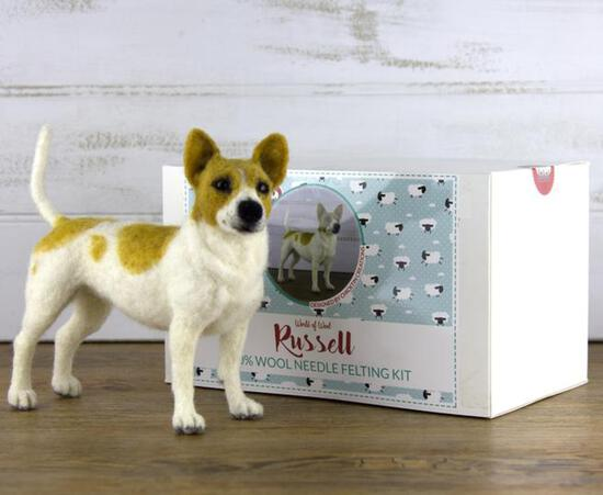 Felting Kits Russell the Dog Felting Kit