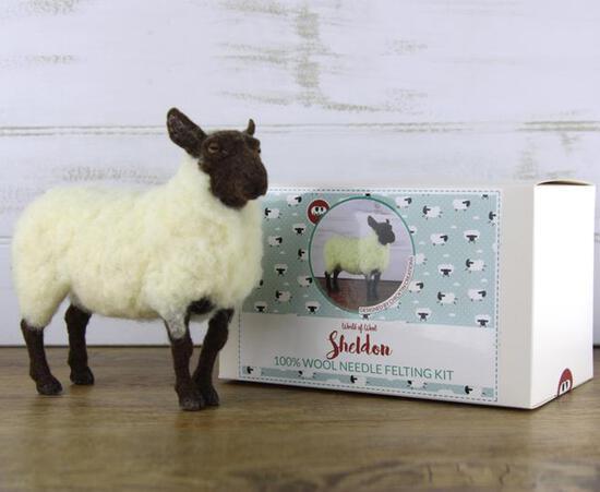 Felting Kits Sheldon the Sheep Felting Kit - SALE!