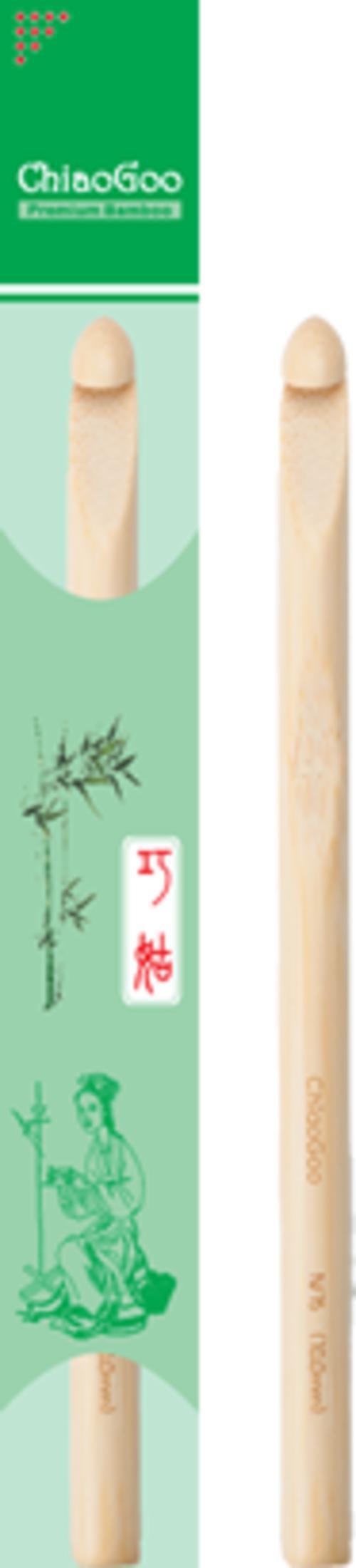Crochet Equipment ChiaoGoo Bamboo Crochet Hook Size P (11.5mm)