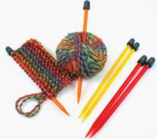 "Knitting Equipment Crystalite 10"" Needle Set  - 8,9,10,10.5"