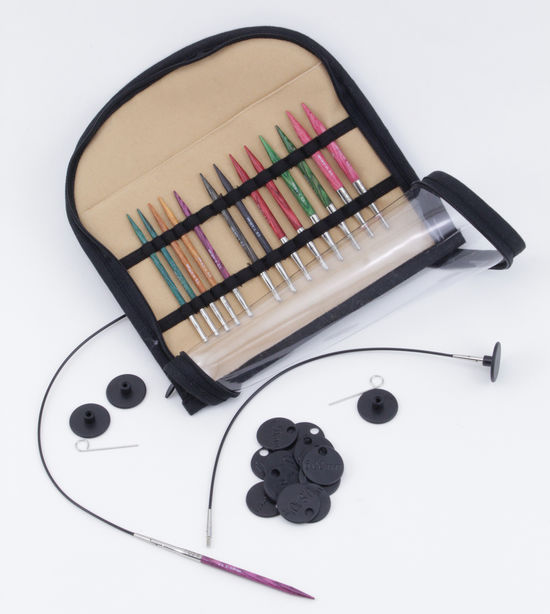 """Knitting Equipment Dreamz Interchangeable Special 16""""  Knitting Needle Set by Knitter's Pride"""