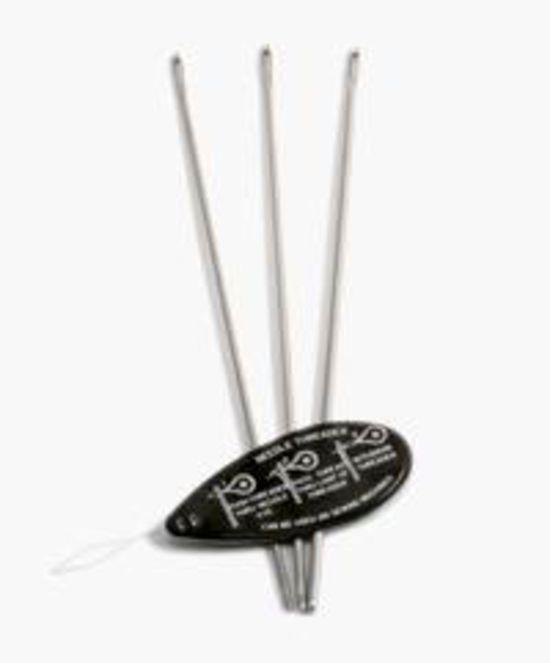 Bobbin Lace and Tatting Equipment Tatting Needle Set  (sizes 3, 5, and 7 for thread)