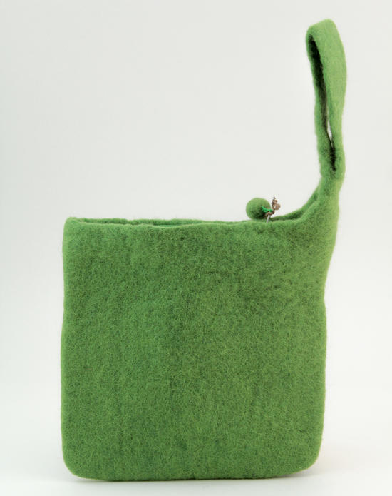 Knitting equipment Clearance - Medium blank felt case - Green