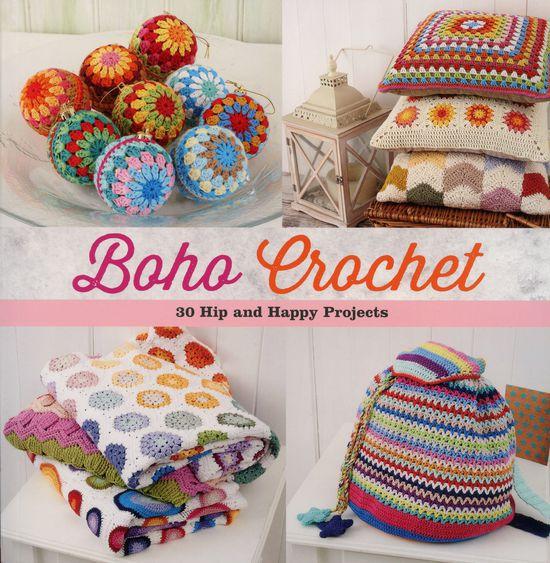 Crochet Books Boho Crochet