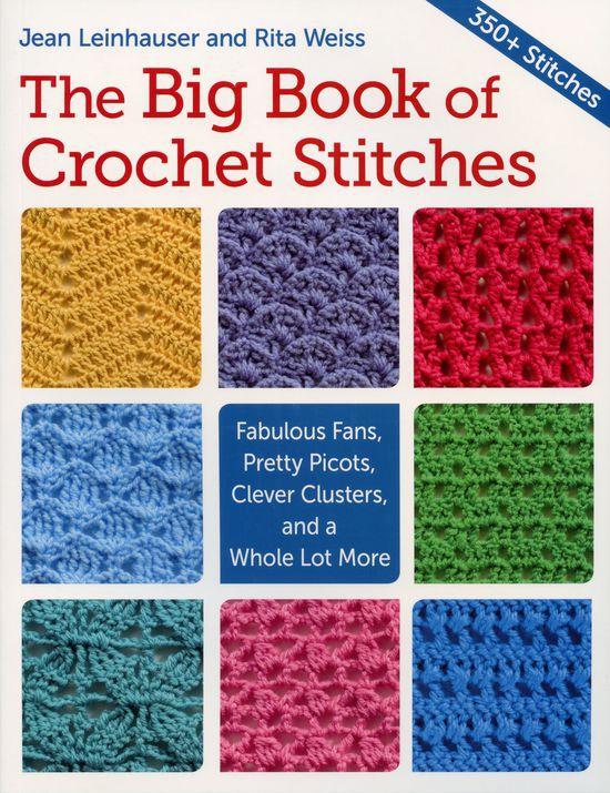 Crochet Books The Big Book of Crochet Stitches