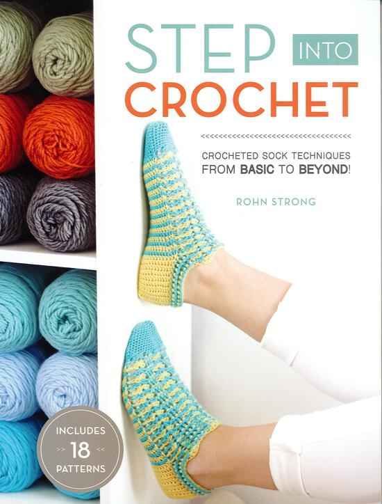 Crochet Books Step Into Crochet
