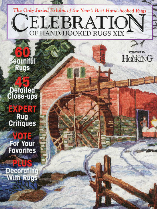 Rug Making Books Clearance - Celebration of Hand-Hooked Rugs XIX