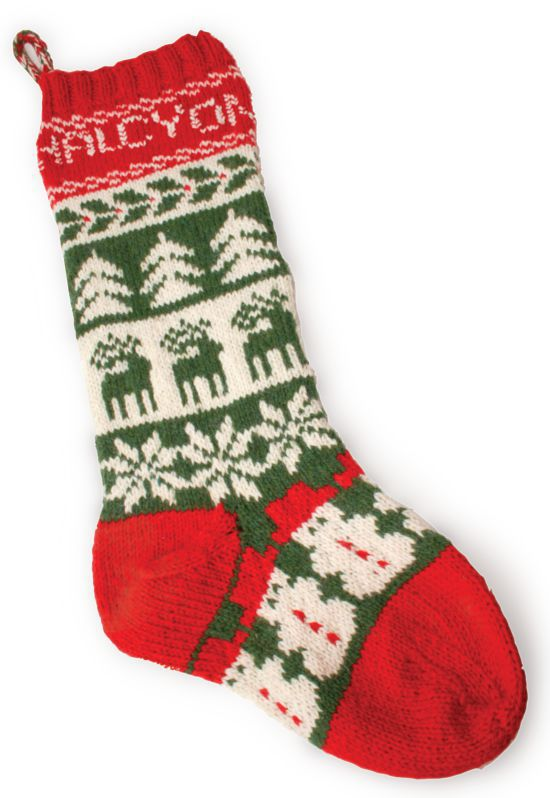 Knitting Kits Halcyon Christmas Stocking Kit