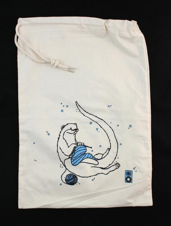 Multi-Craft Equipment Otter Project Bag by Mum n Sun Ink