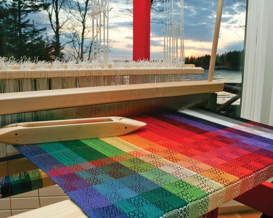 Weaving 101 - Weaving on a Floor Loom Class