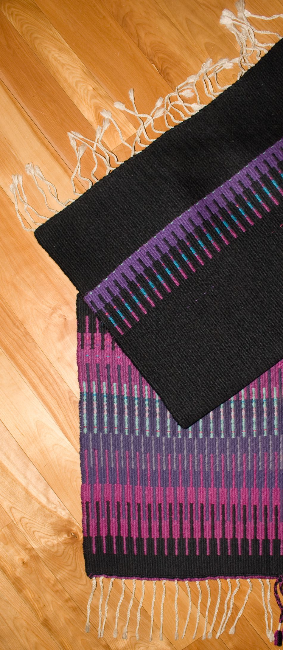 Weaving Patterns Aurora Borealis Rug  Halcyon Classic Rug Wool