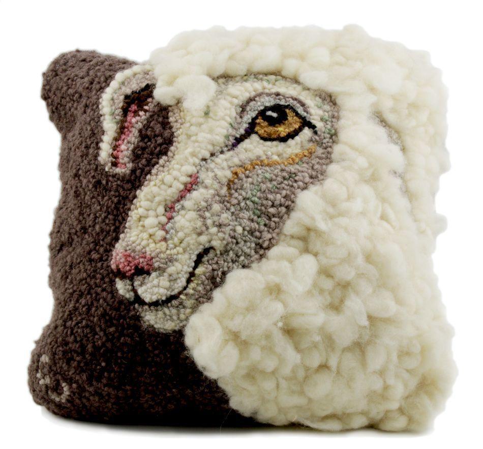 Sheep Portrait Of Jack Hooking