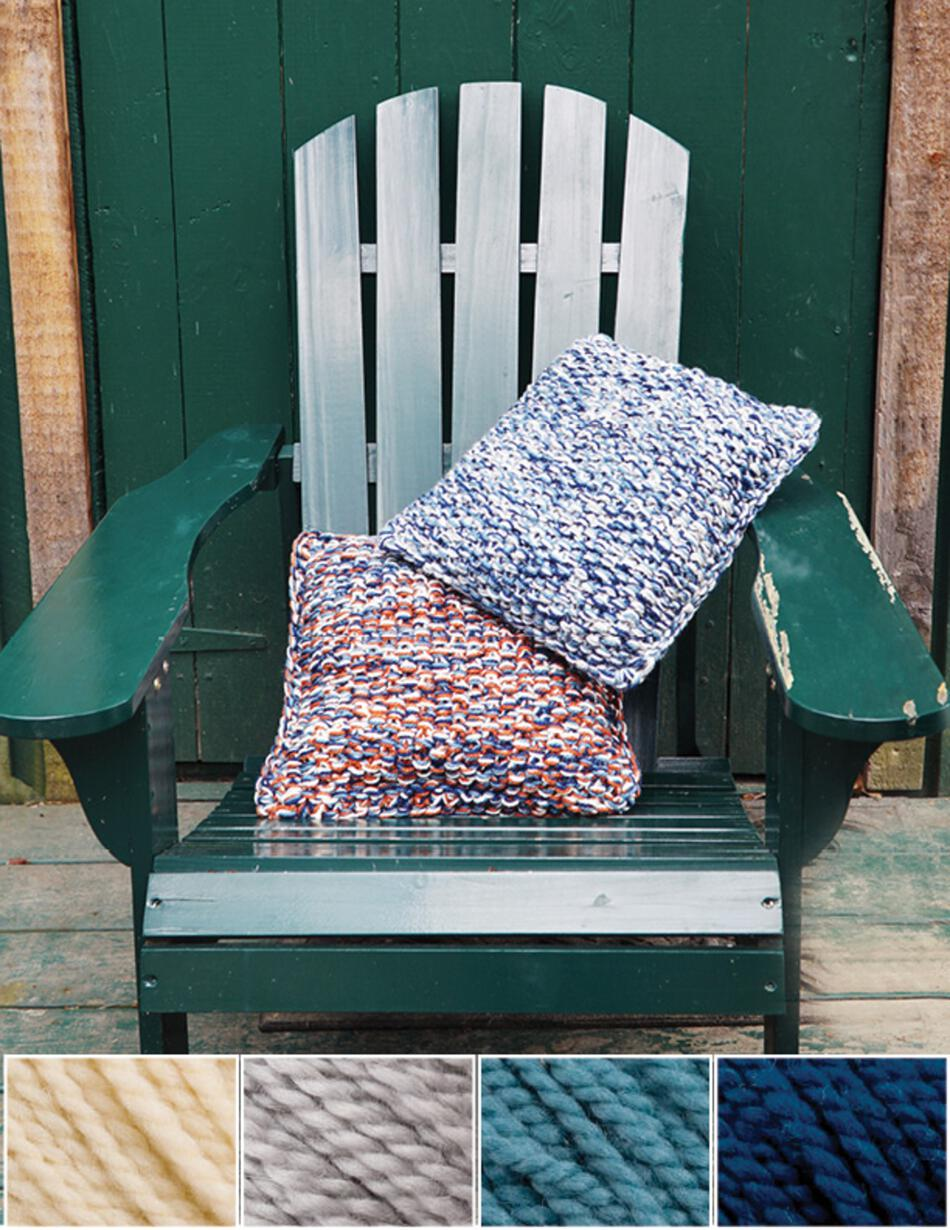 Knitting Kits Eastport Pillow Kit  Whale