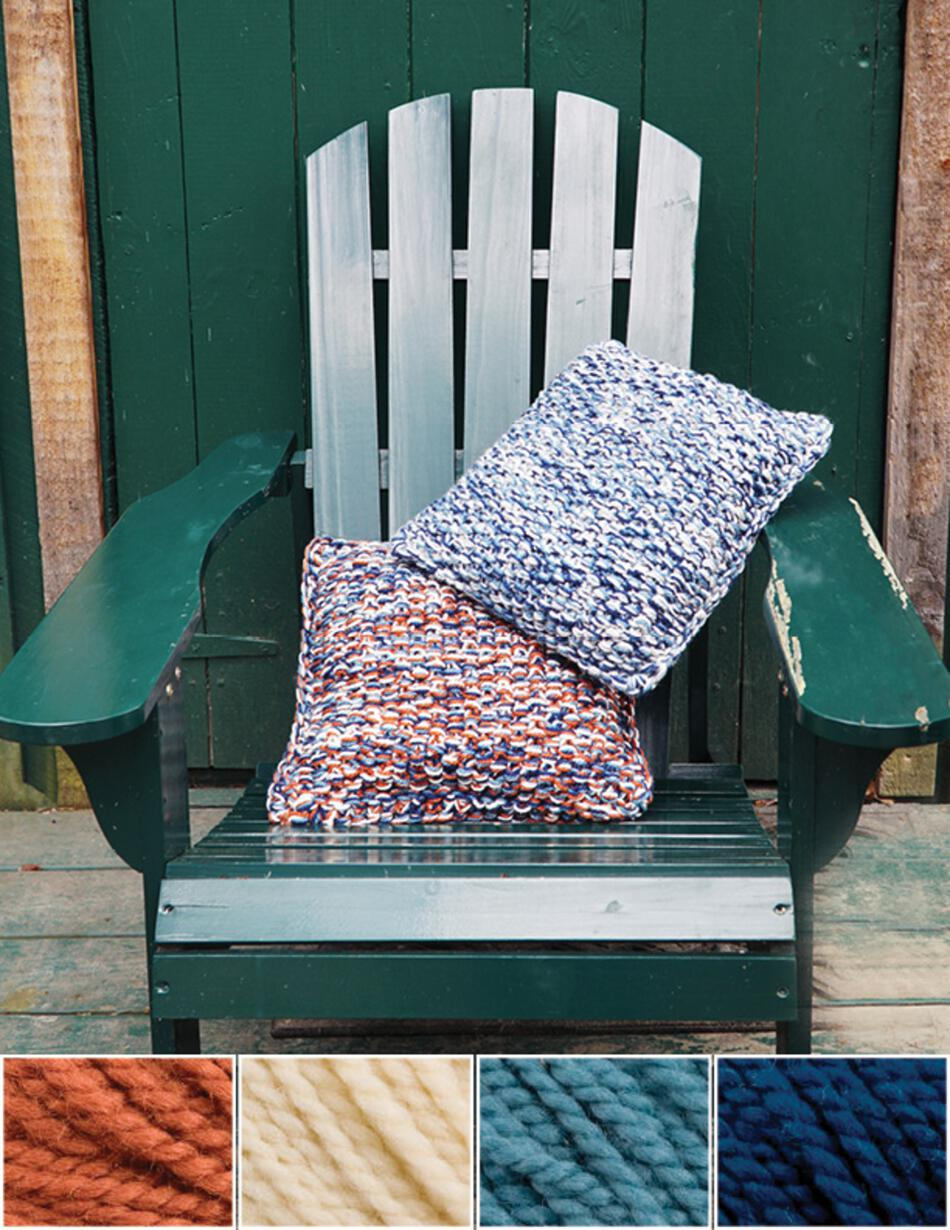 Knitting Kits Eastport Pillow Kit  Lichen