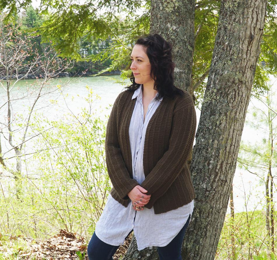 Knitting Patterns Rangeley Cardigan