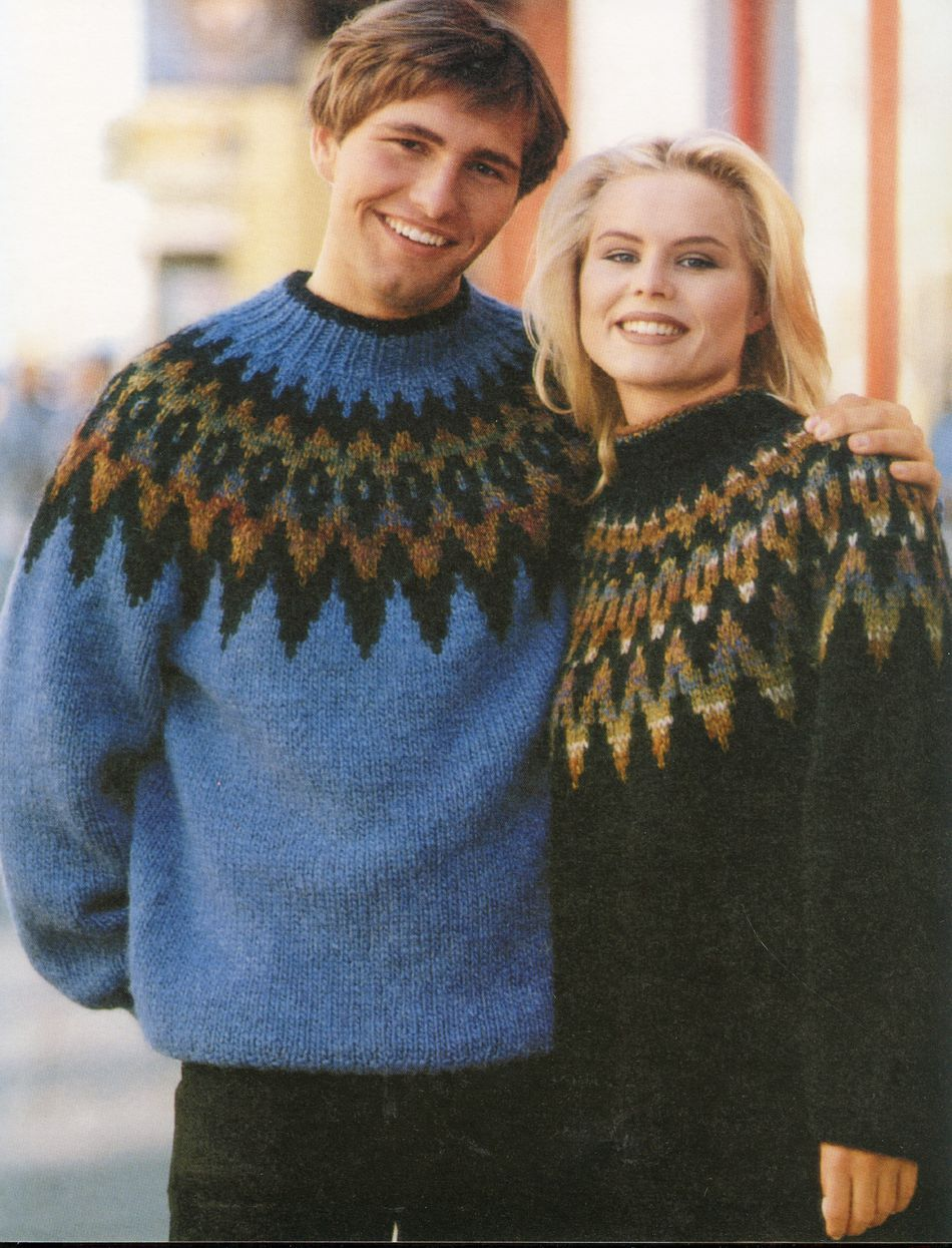 Icelandic Lopi Free Pattern Knitting Pattern Halcyon Yarn