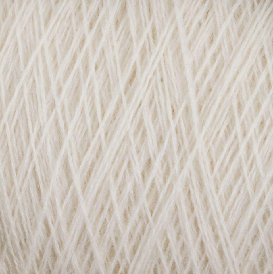 Fine 100% Wool Yarn:  color 0100