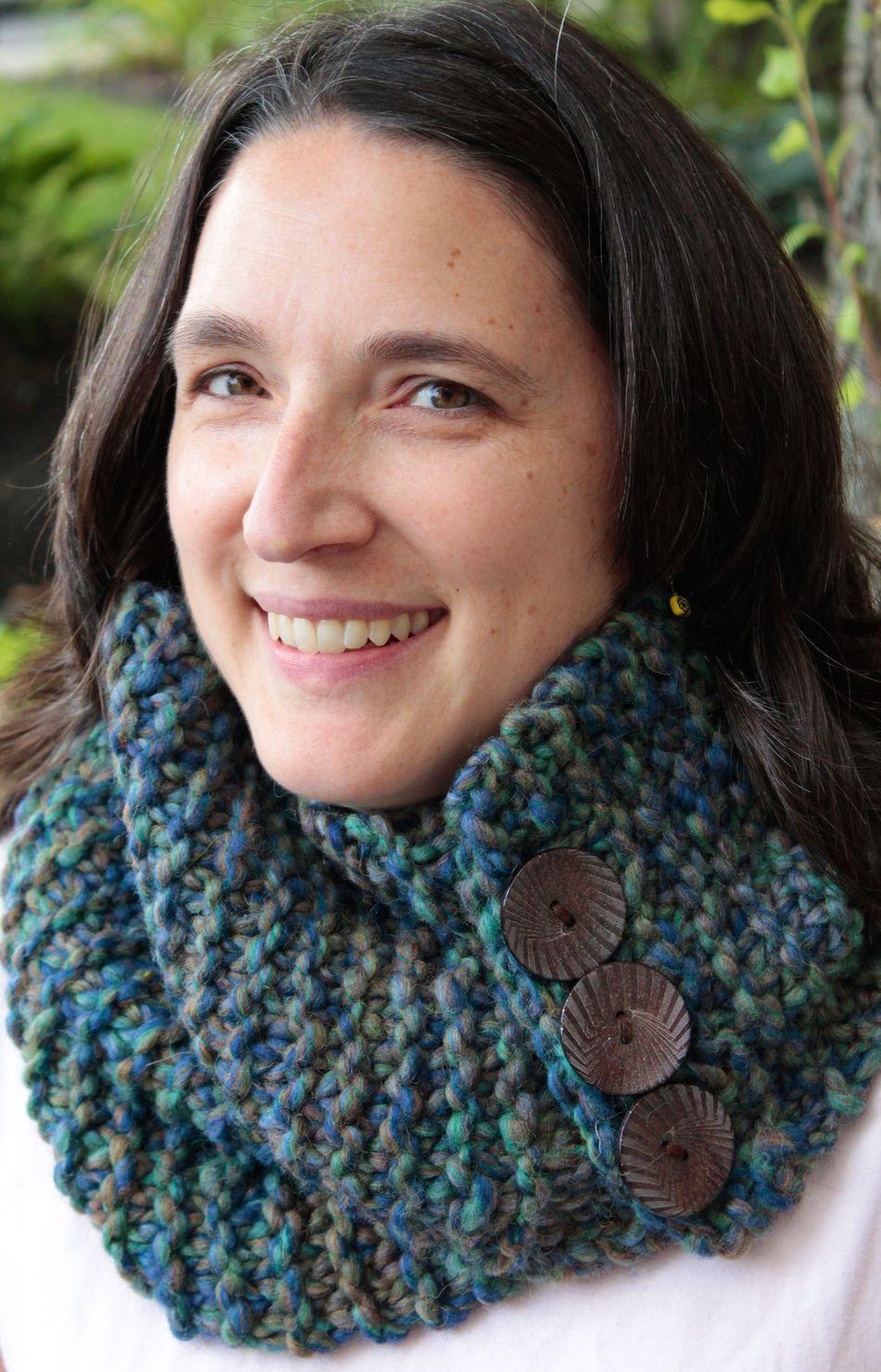 The Big Easy Cowl Knitting Pattern Halcyon Yarn
