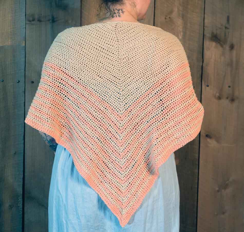 Waiting Room Crocheted Shawl Crochet Pattern Halcyon Yarn