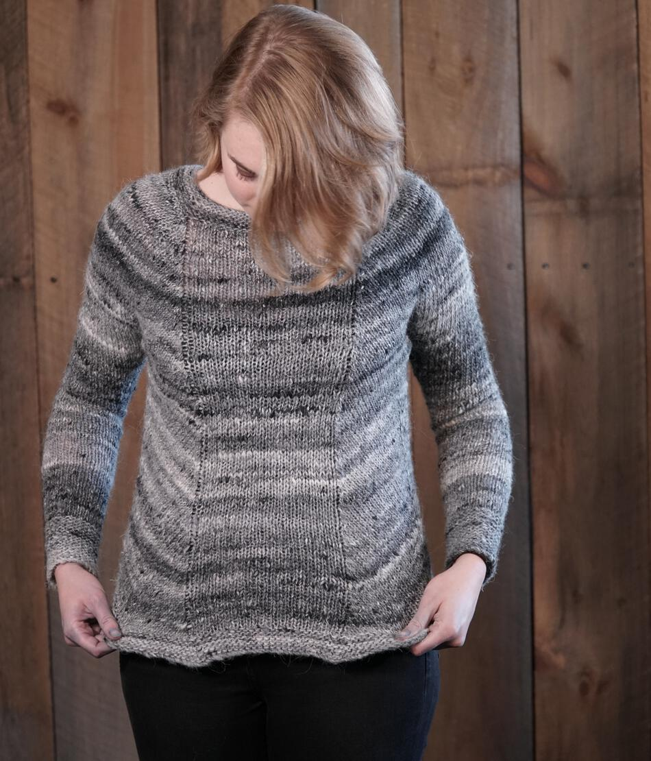 Knitting Patterns Mannequin Pullover Sweater Pattern
