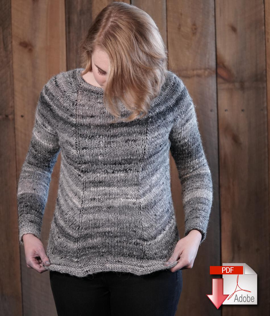 Mannequin Pullover Sweater Pattern Download, Knitting Pattern ...