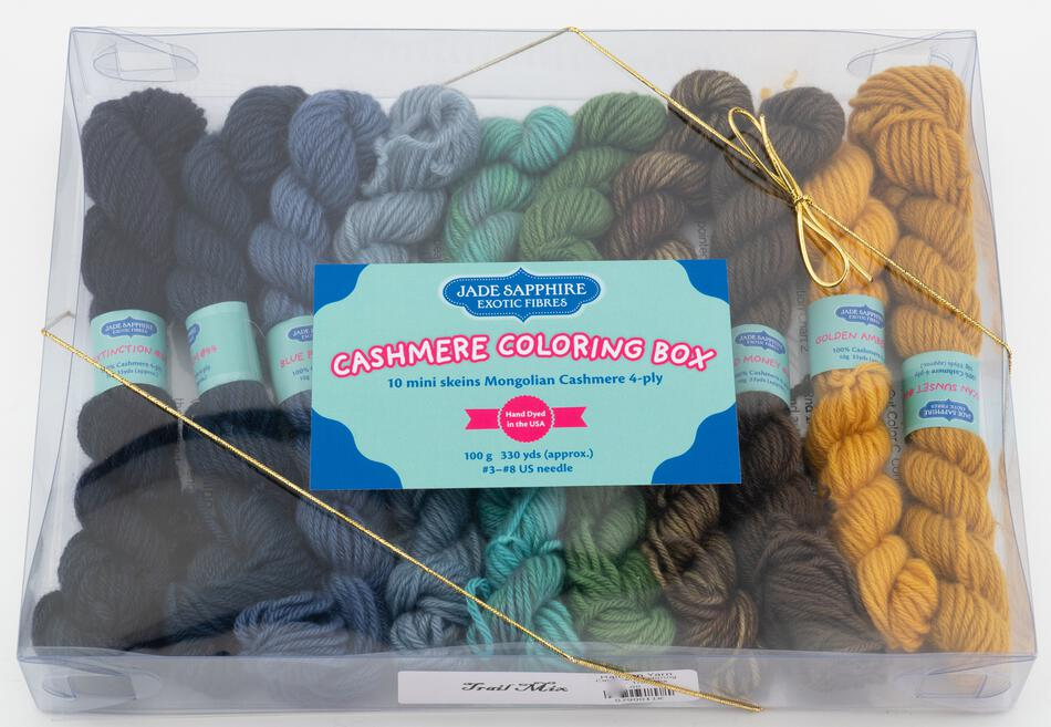 MultiCraft Kits Cashmere Coloring Box  Trail Mix