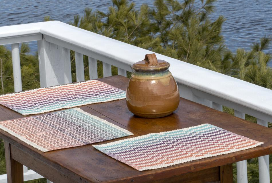 Lovely Day Rep Weave Kit Color: Southwest - Natural