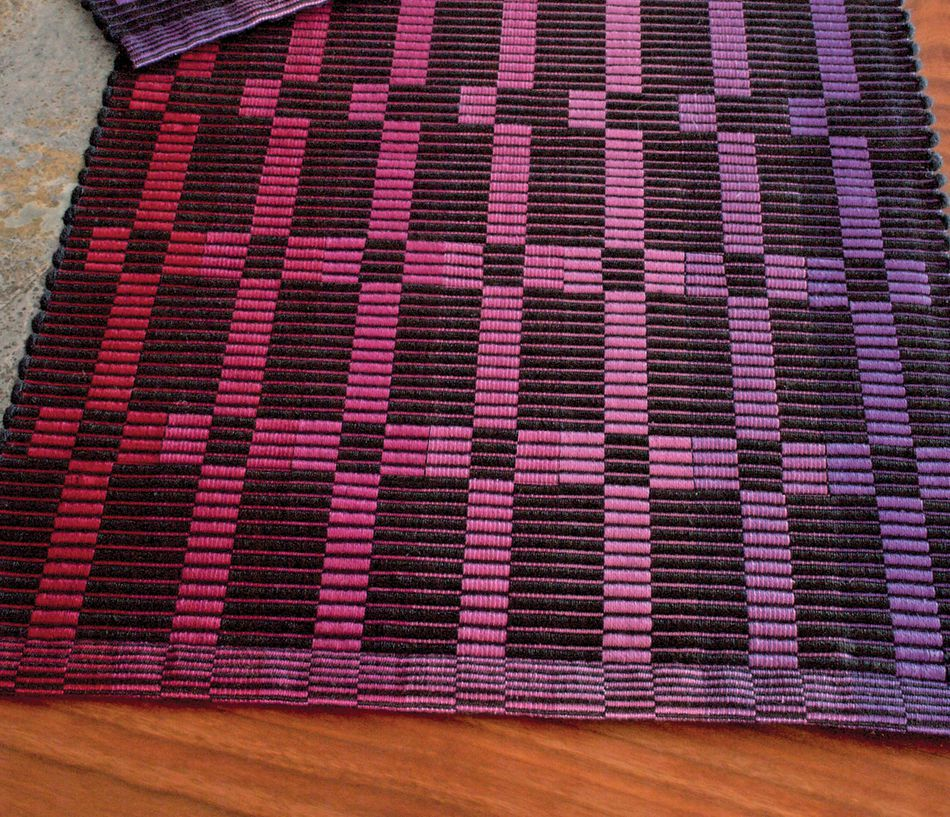 Rep Weave Placemat Pattern 10 2 Pearl Cotton Pattern