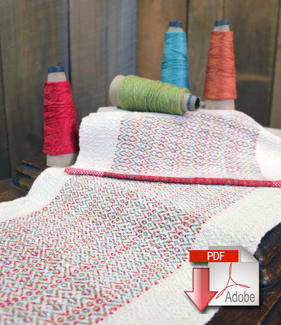 Weaving Patterns Homeward Bound  Table Runner and Placemat Set  Pattern Download