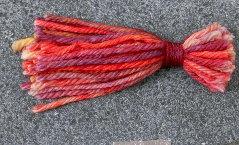 yarn tassel for Malabrigo Rios Superwash Wool Yarn 105