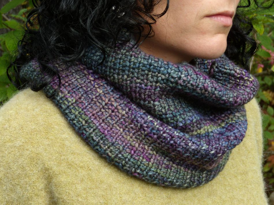 Cowl Two Ways Knitting Pattern Halcyon Yarn