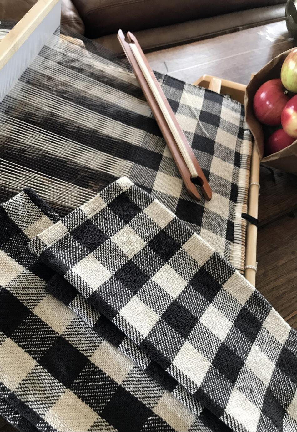 Weaving Patterns Buffalo Plaid Woven Dish Towel for Rigid Heddle or 4Shaft  Pattern Download