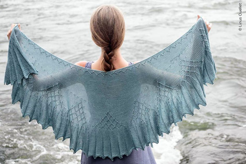 Twist Collective Isen Shawl Printed Pattern Twist Collective In