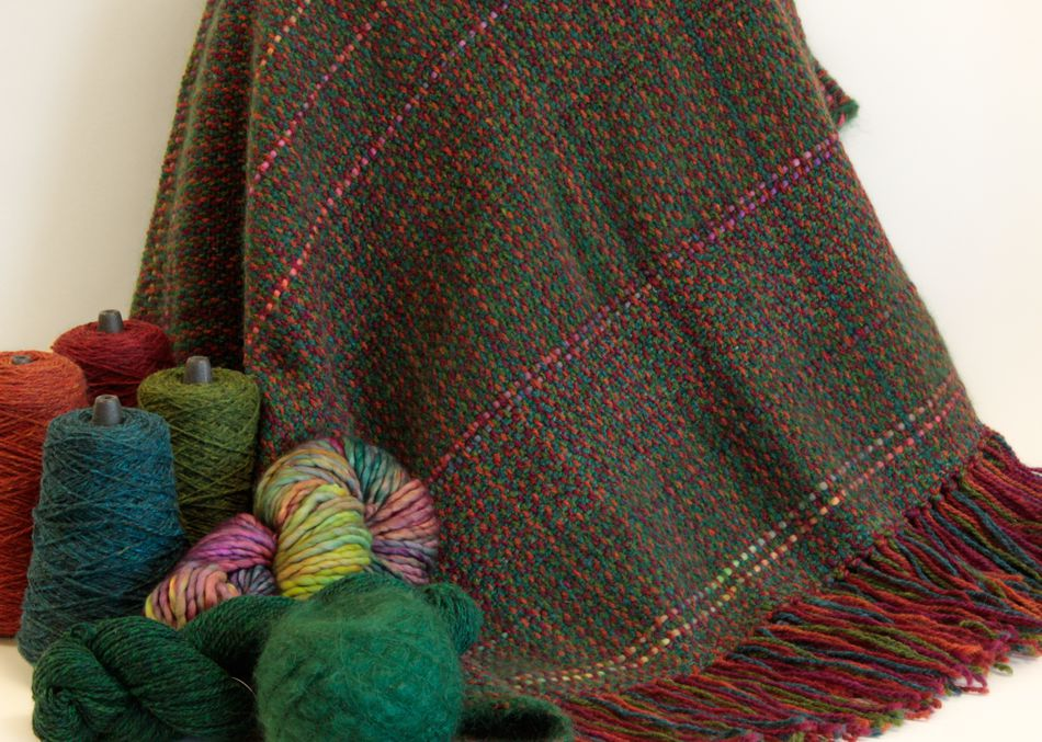 Weaving Patterns Forest Glen Broken Twill Throw  Pattern download