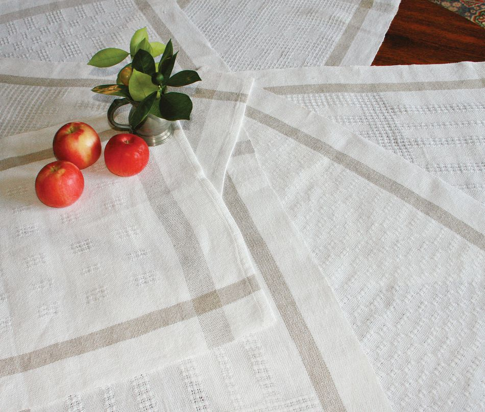 Weaving Patterns Classic Linen Towels Pattern  Newport Linen