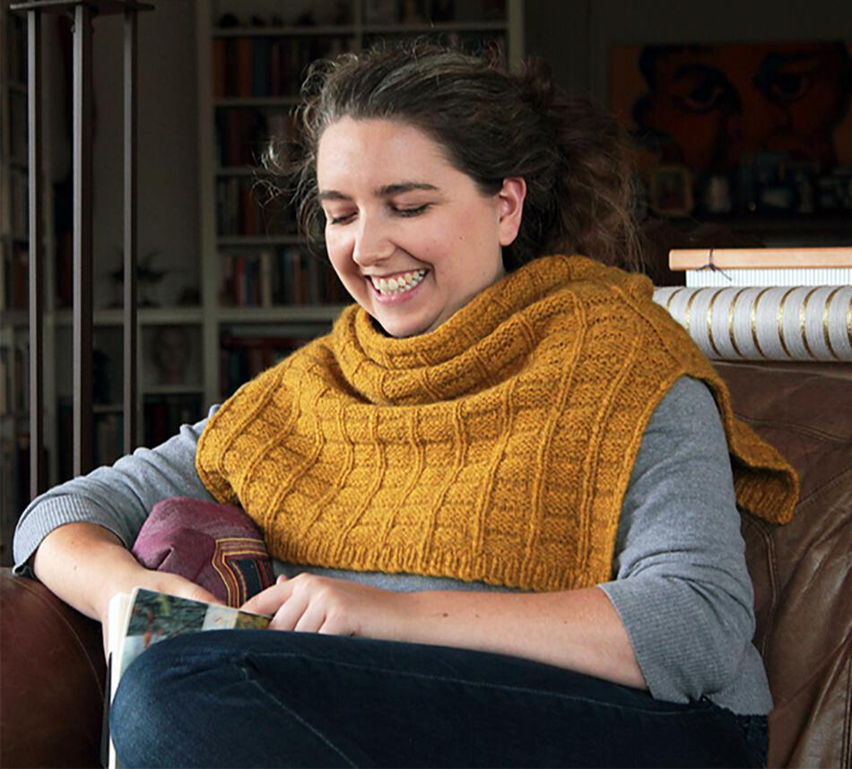 Knitting Patterns Fortitude Ponchette  Pattern Download
