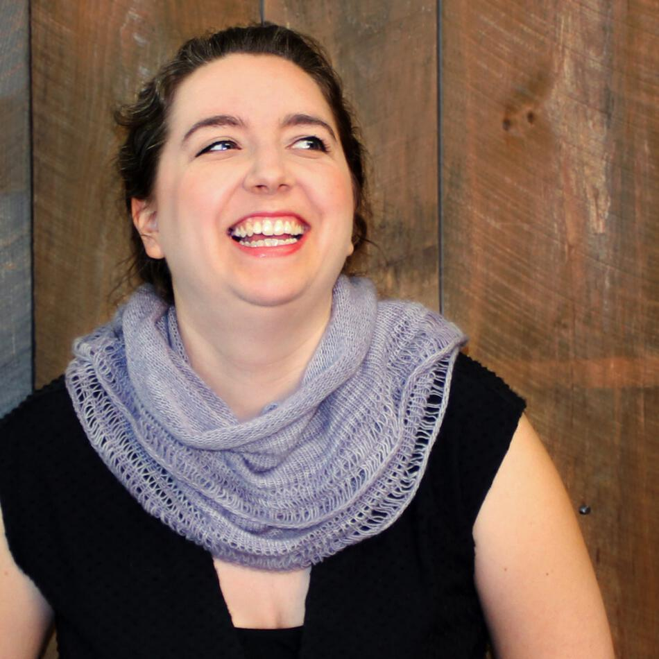 Pressure Drop Infinity Scarf Pattern, Knitting Pattern - Halcyon Yarn