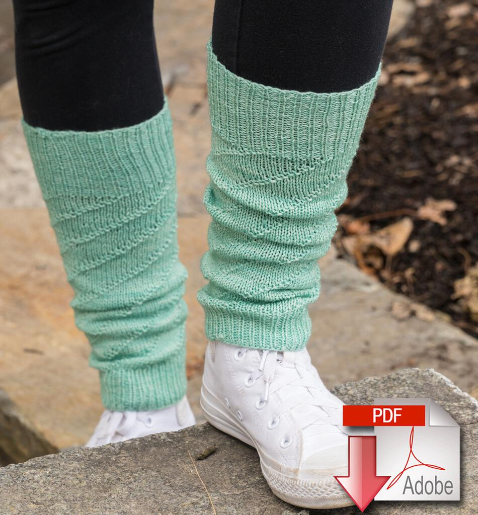 Knitting Patterns Pipeline Legwarmers  Pattern Download