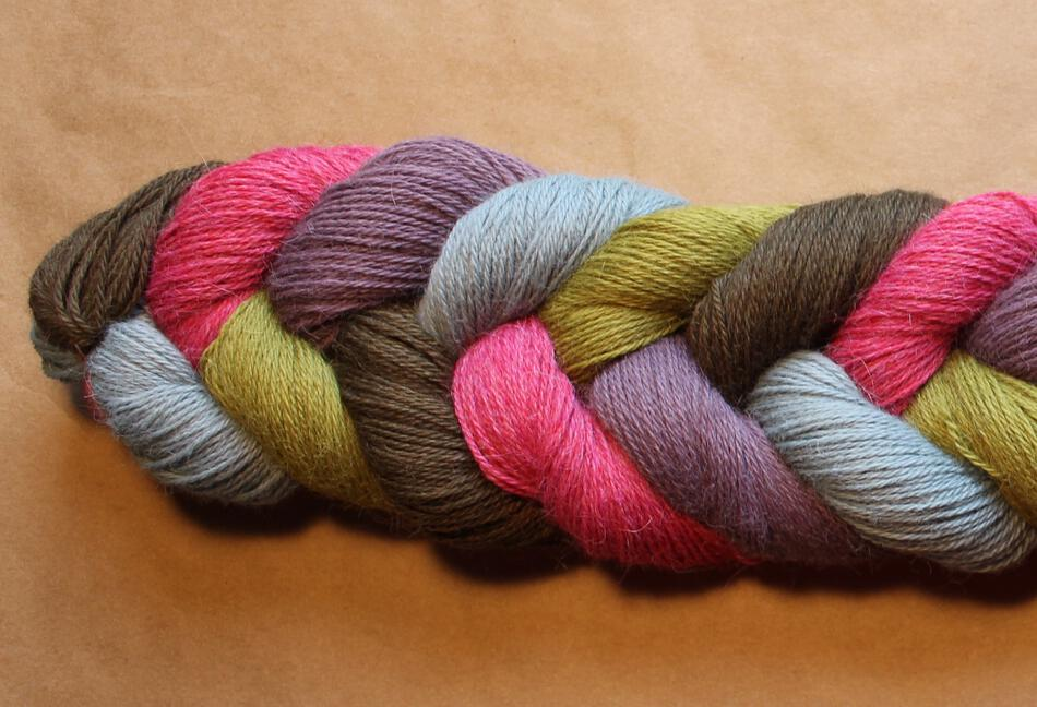 Fine 100% Superfine Alpaca Yarn:  color 0210