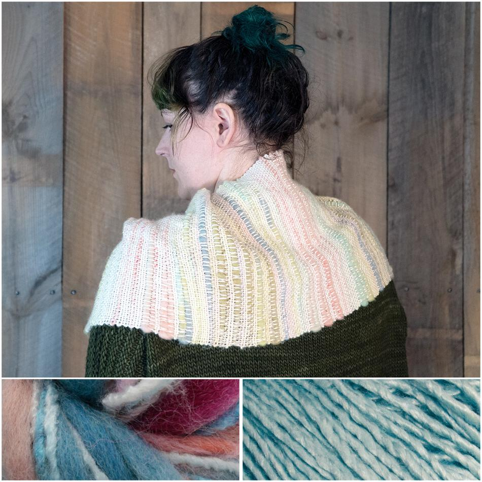 Weaving Kits Both Sides Now  Woven Cowl Kit