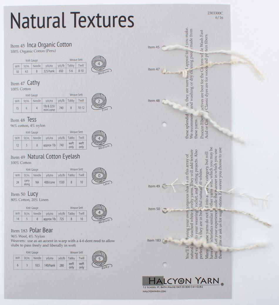 MultiCraft Equipment Natural Textures Sample Card