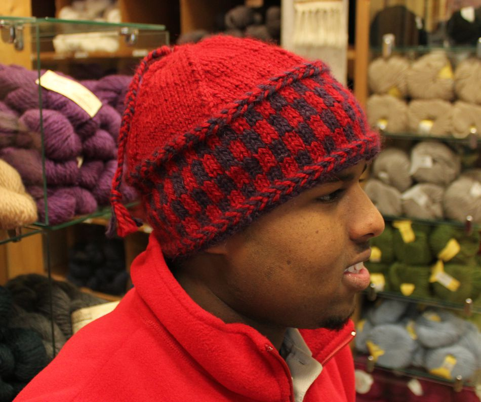 Checkerboard Hat - Bulky Weight - Pattern download ...
