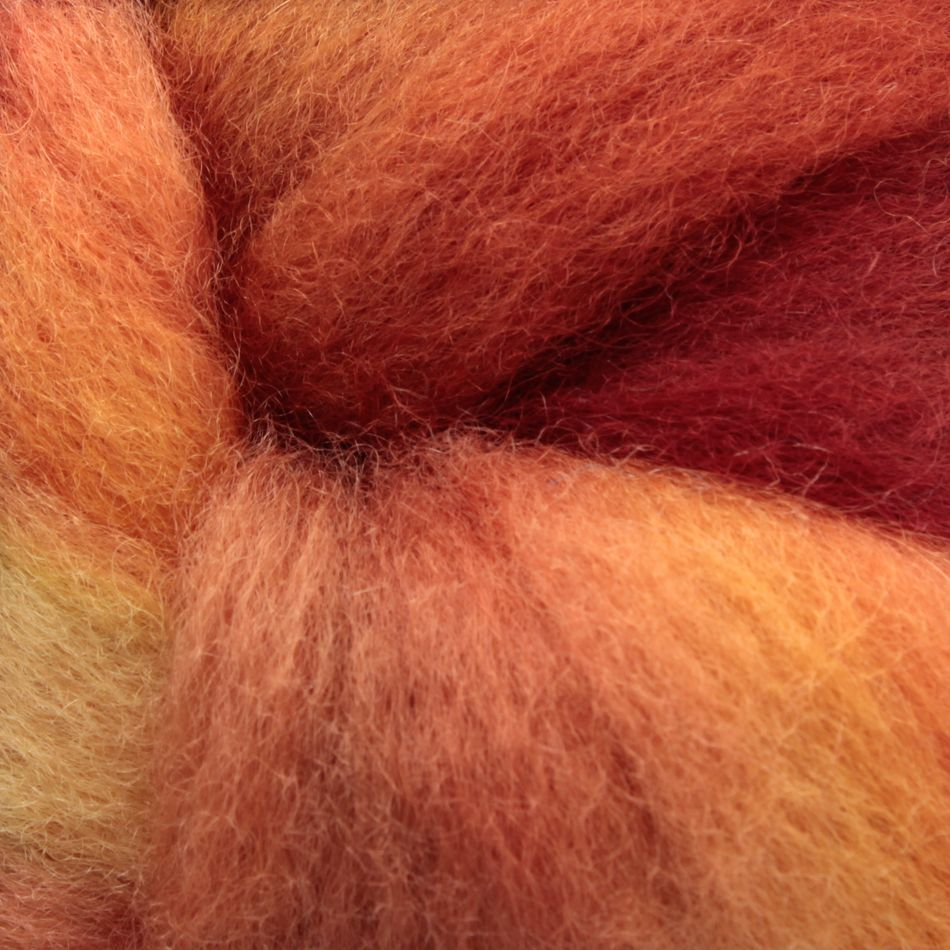 Wool Fiber:  color 0050