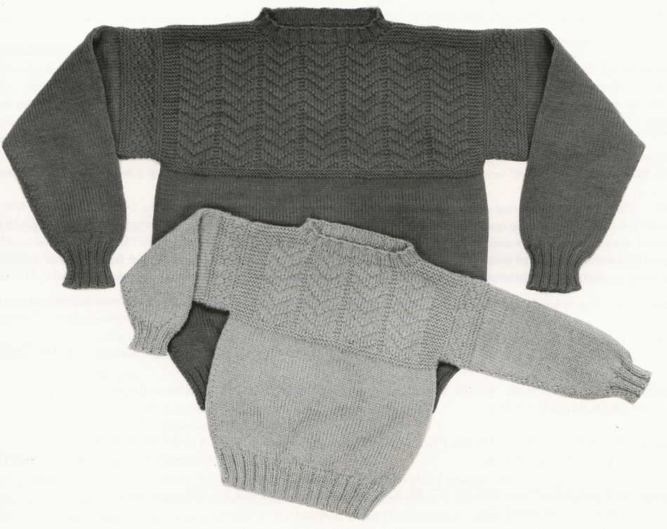 Guilford Guernsey - Yankee Knitter, Knitting Pattern - Halcyon Yarn
