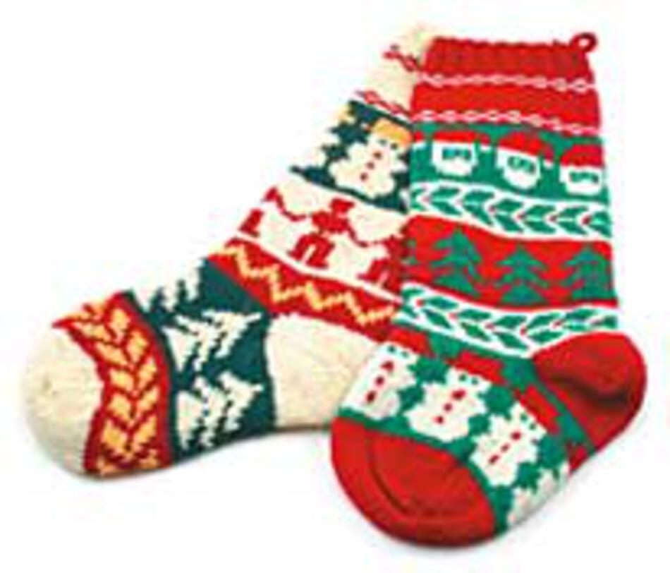 Christmas Socks Knitting Pattern Halcyon Yarn