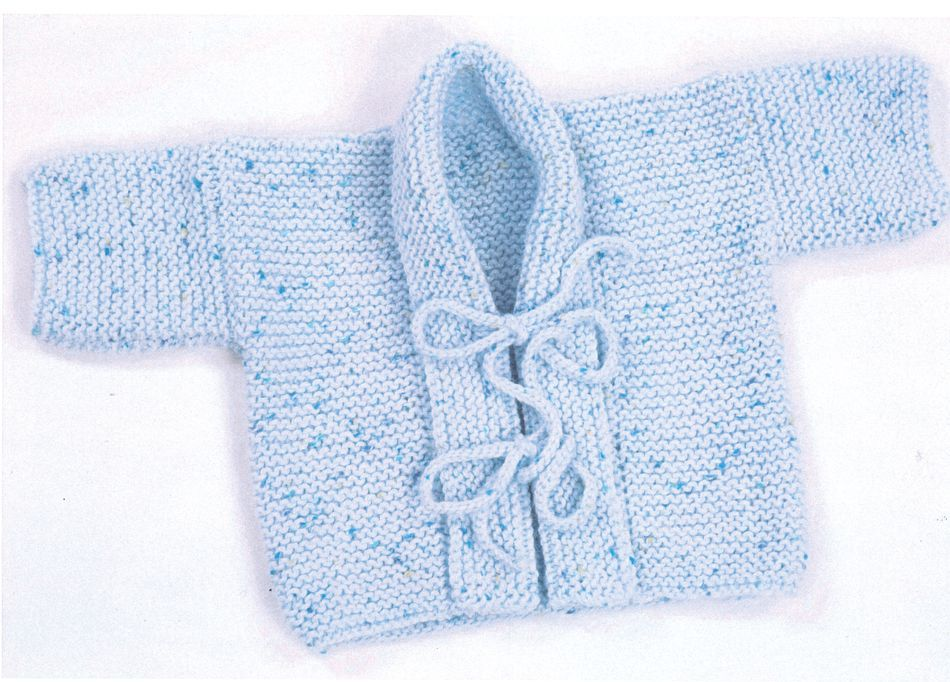 Knitting Patterns Baby Kimono