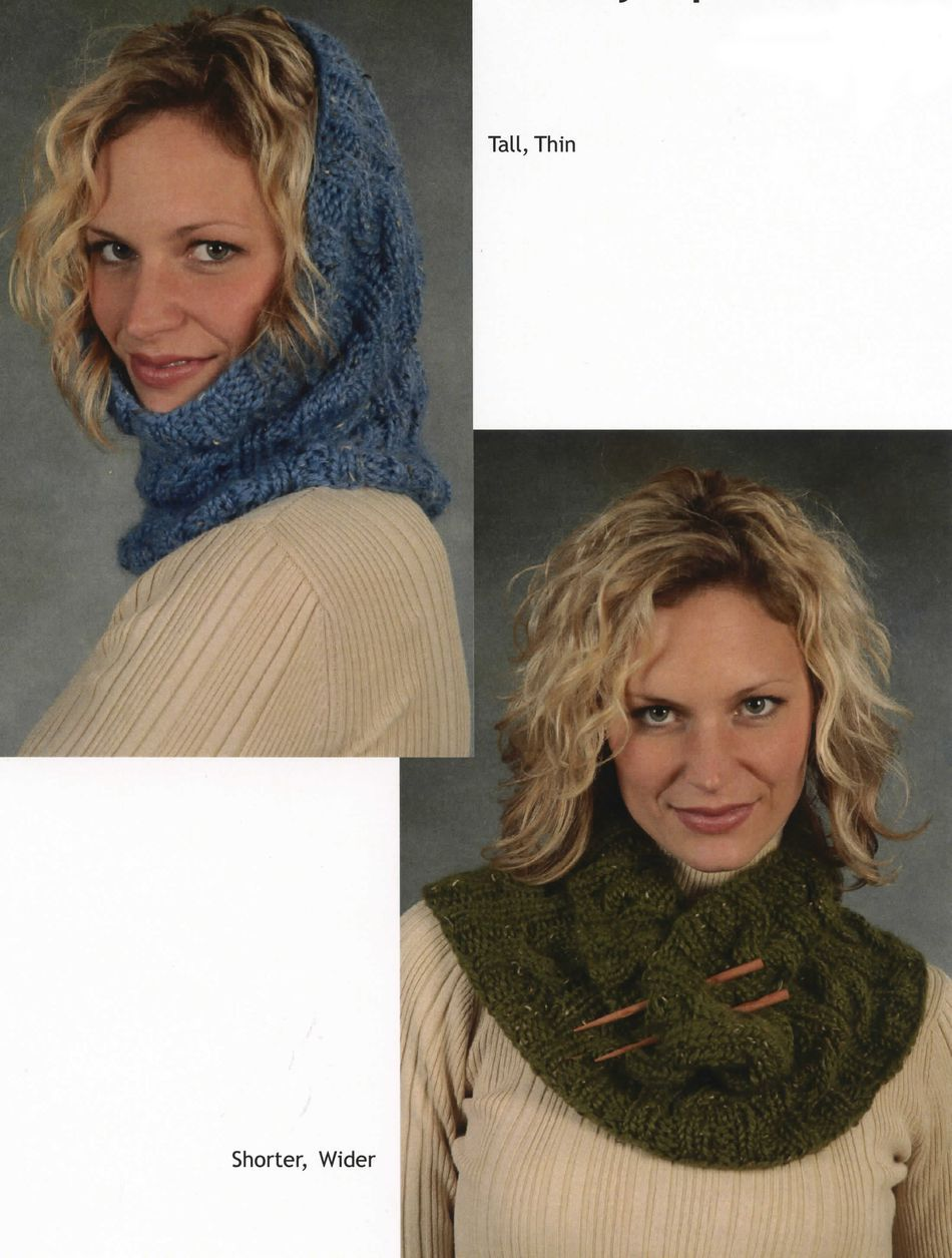 Knitting Patterns Bulky Cabled Cowl