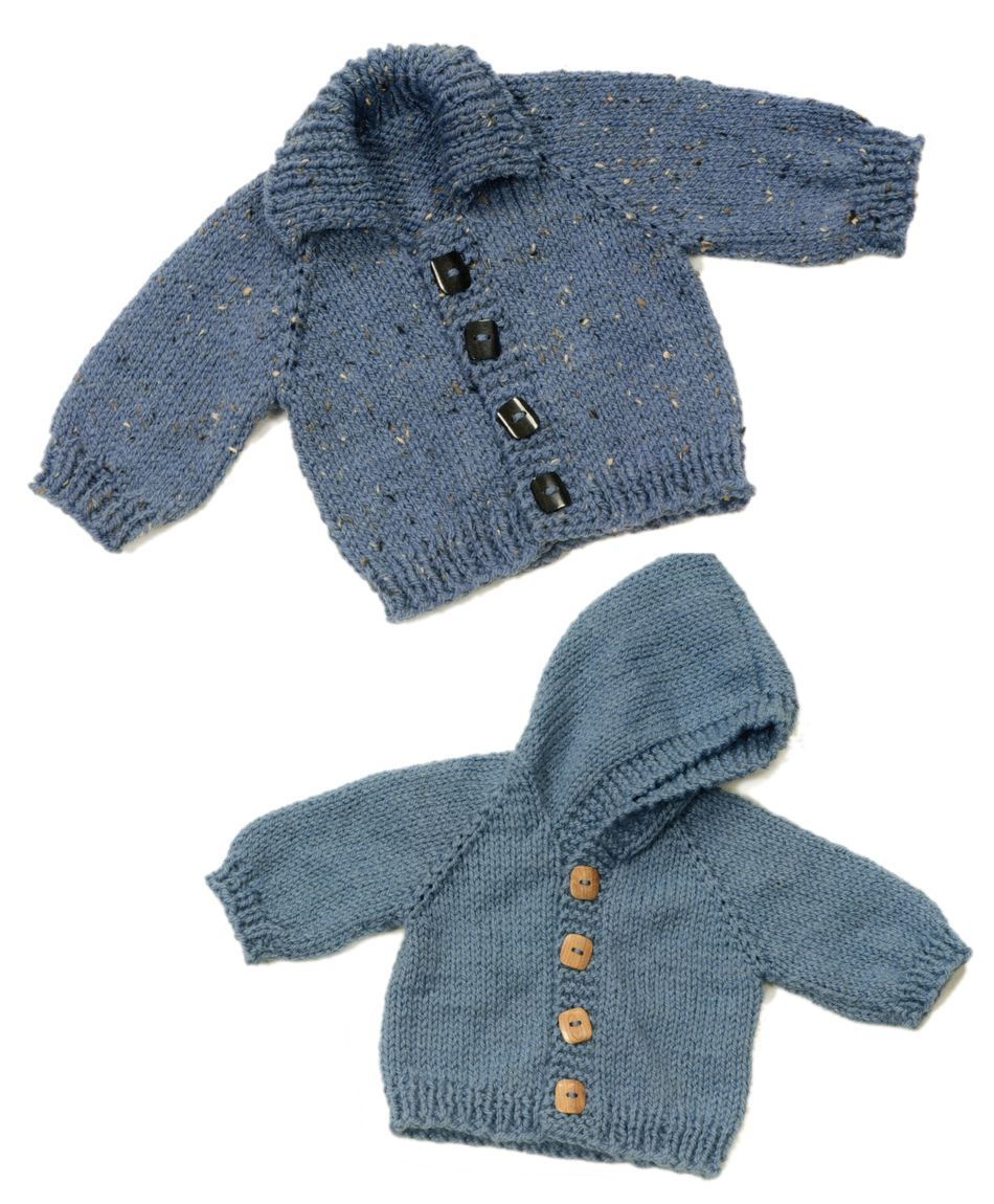 Knitting Patterns Top Down Baby Jacket
