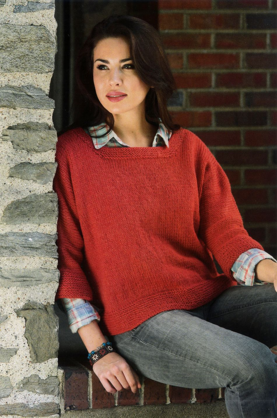 Knitting Patterns Womenaposs Dolman Pullover